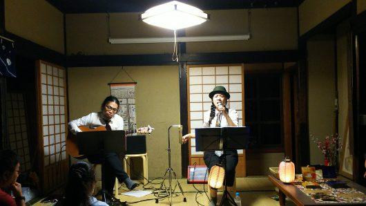 秋の古民家祭り&昭和レトロナイト