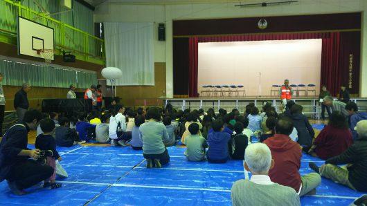 能ケ谷町内会防災訓練&鶴川第二中学校文化祭へ