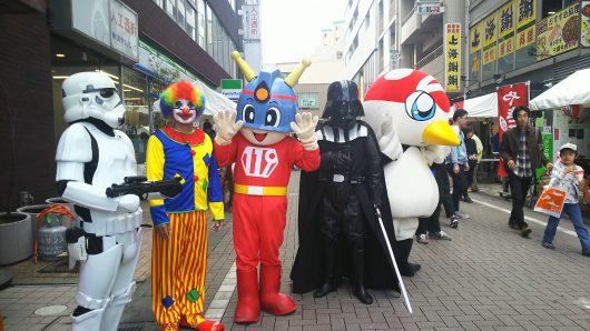 鶴川deハロウィンウォーキング&鶴川商店会フェスティバルへ