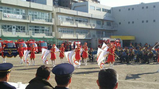 町田市消防団出初式と消防団創設60周年