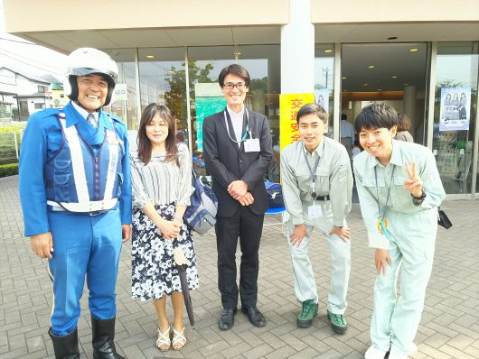 町田市春の交通安全教室
