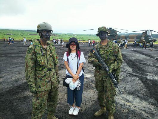 富士総合火力演習へ視察