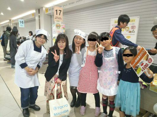 まちかふぇ・中学校によりよい給食とどけ隊@町田